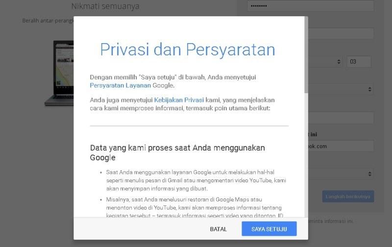 Cara Buat Email Baru di Gmail yang Mudah & Cepat 2017